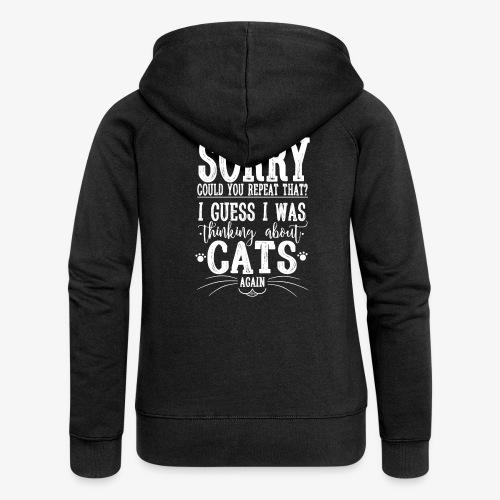 Sorry Cats II - Naisten Girlie svetaritakki premium