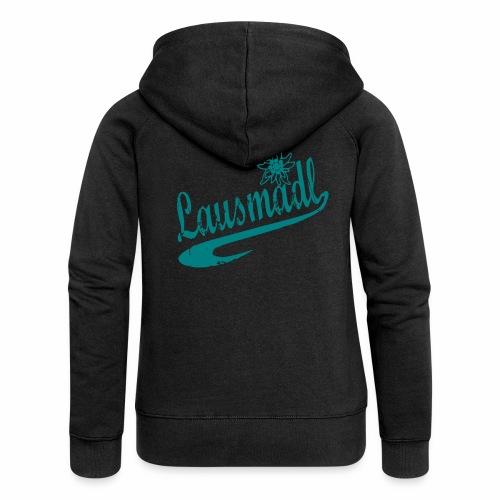 lausmadl - Frauen Premium Kapuzenjacke