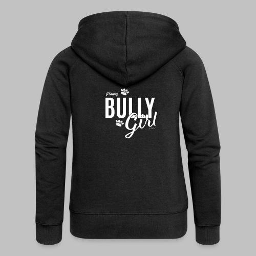 Happy Bully Girl - Französische Bulldogge Frenchie - Frauen Premium Kapuzenjacke