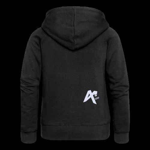 Logo Amigo - Women's Premium Hooded Jacket
