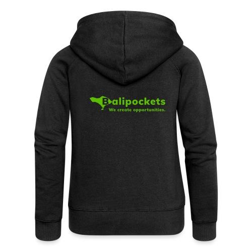 Balipockets Logo - Frauen Premium Kapuzenjacke