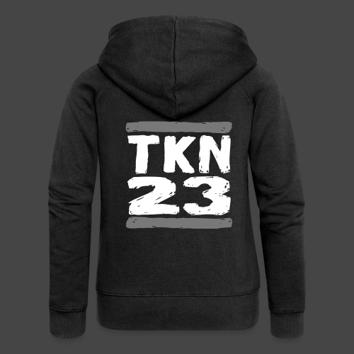TKN 23 - Felpa con zip premium da donna