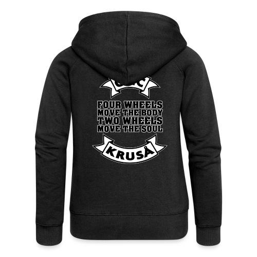 GMC FOUR WHEELS - Dame Premium hættejakke