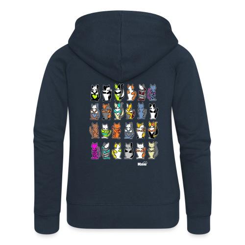 koko paita mustalle - Naisten Girlie svetaritakki premium