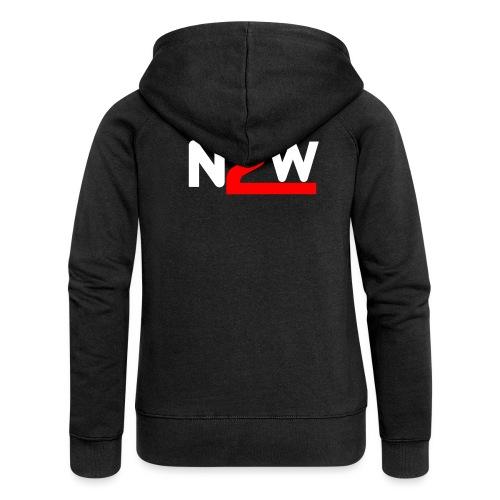Logo Nico2Wheels Simple - Veste à capuche Premium Femme