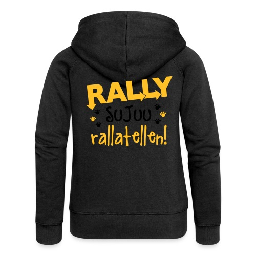 Rally Toko Rallatellen 2 - Naisten Girlie svetaritakki premium