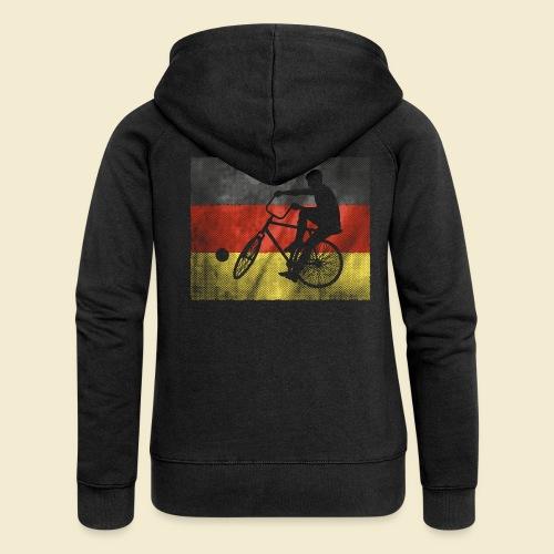 Radball | Flagge Deutschland - Frauen Premium Kapuzenjacke