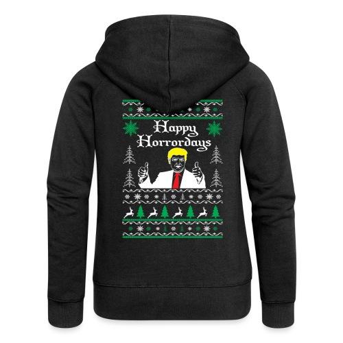 Happy Horrordays - Frauen Premium Kapuzenjacke