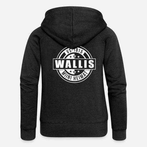 WALLIS - MIINI HEIMAT - Frauen Premium Kapuzenjacke