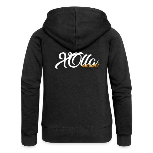 [Jacke] X0lla-Spruch - Frauen Premium Kapuzenjacke