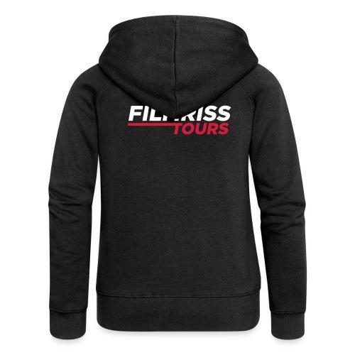 FILMRISS TOURS – lustiges Shirt für Partys, JGA - Frauen Premium Kapuzenjacke