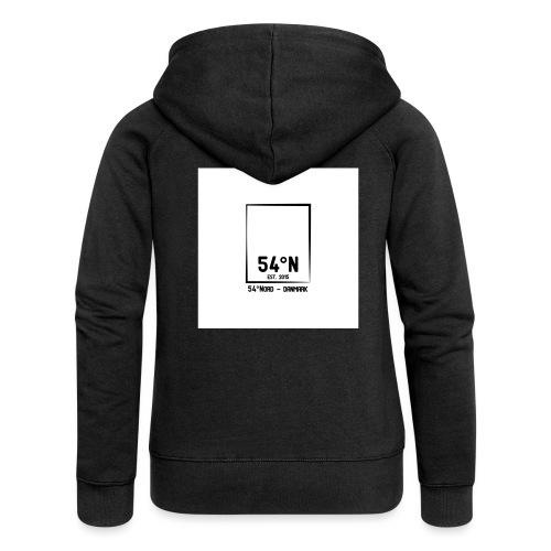 54°Nord square t-shirt edt.4 - Dame Premium hættejakke