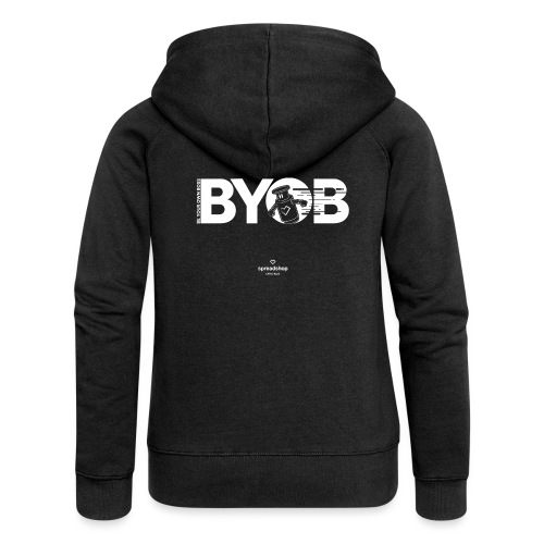 BYOB Robot - Women's Premium Hooded Jacket