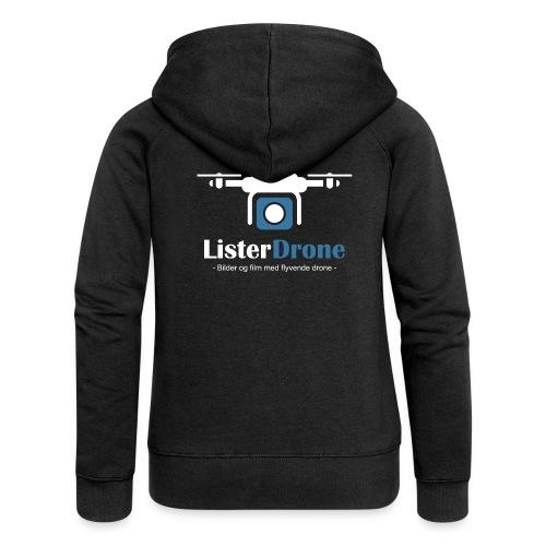 ListerDrone logo - Premium hettejakke for kvinner