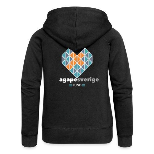 agape-lund-vit - Premium luvjacka dam