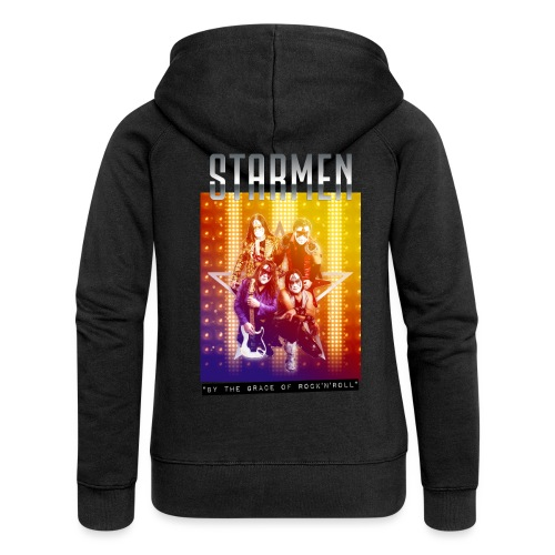 Starmen By the Grace of Rock'n'Roll - Women's Premium Hooded Jacket