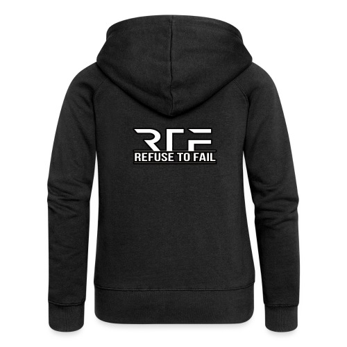 Refuse to fail - Women's Premium Hooded Jacket