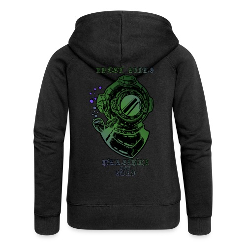 Frost Pipes The Eldritch Nautical LIMITED EDITION - Women's Premium Hooded Jacket