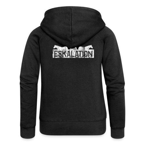 Eskalation - Frauen Premium Kapuzenjacke