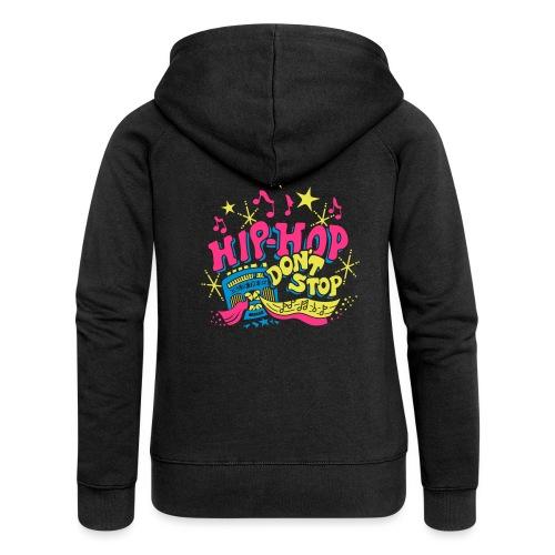 hiphop_style - Frauen Premium Kapuzenjacke