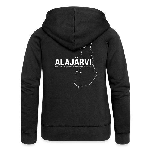 Kotiseutupaita - Alajärvi - Naisten Girlie svetaritakki premium
