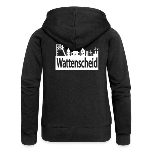 Skyline Wattenscheid - Frauen Premium Kapuzenjacke