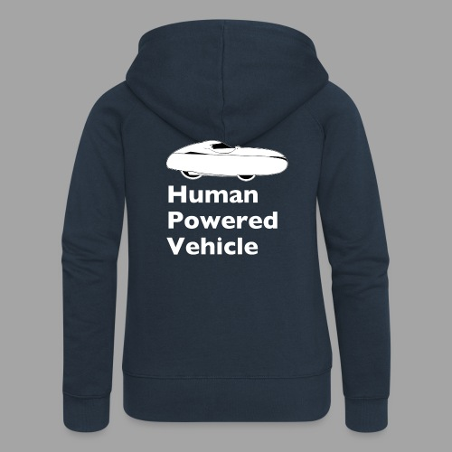 Quest Human Powered Vehicle 2 white - Naisten Girlie svetaritakki premium