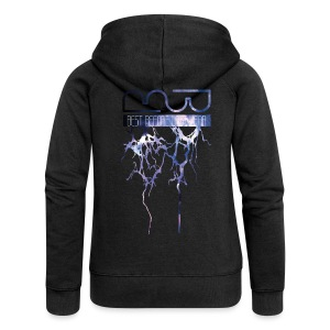 Unisex Hoodie Lightning - Women's Premium Hooded Jacket