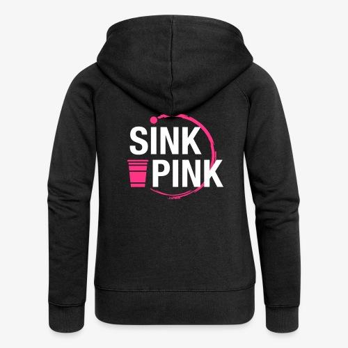 Sink Pink - Frauen Premium Kapuzenjacke