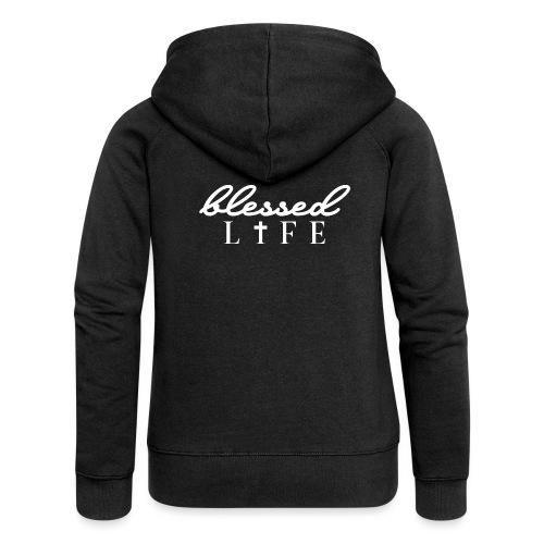 Blessed Life - Jesus Christlich - Frauen Premium Kapuzenjacke