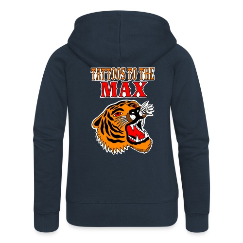 Tattoos to the Max - Tiger - Frauen Premium Kapuzenjacke