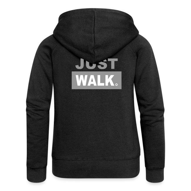 JUST WALK vrouw grijs ls