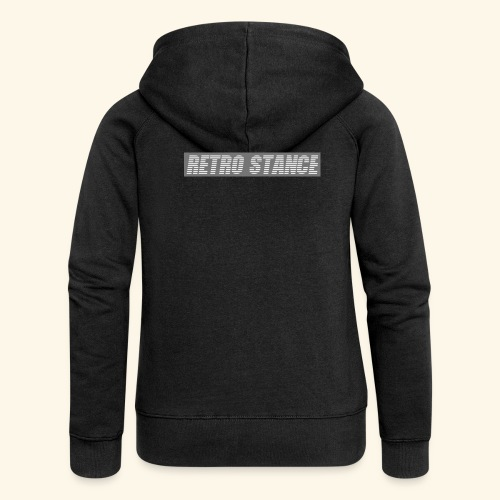 Retro Stance - Women's Premium Hooded Jacket