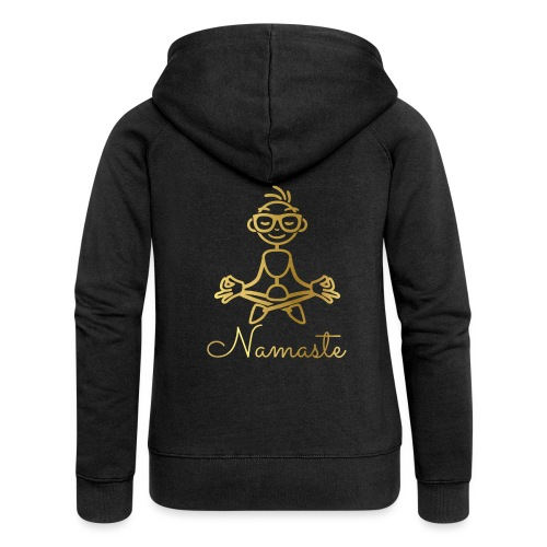 Namaste - Women's Premium Hooded Jacket
