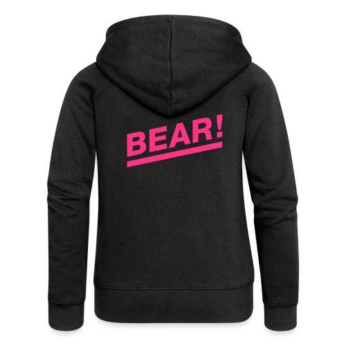 Bear! Solo - Frauen Premium Kapuzenjacke