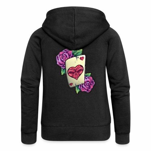 Tarot Mortal - Chaqueta con capucha premium mujer