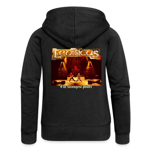 Leviticus - The Strongest Power - Band - Women's Premium Hooded Jacket