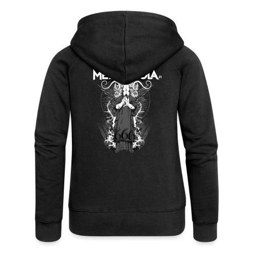 Metalliluola logo ja Demoniac 666 - Naisten Girlie svetaritakki premium