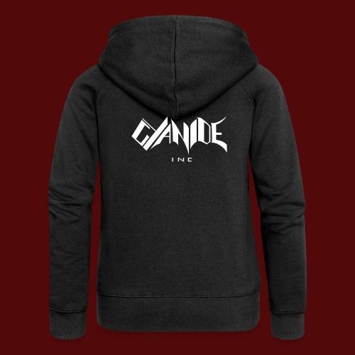 Logo Cyanide Inc - Veste à capuche Premium Femme