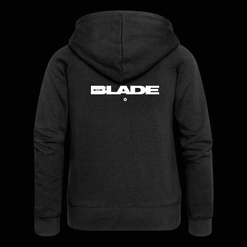 BLADE, razorsharp official logo - Veste à capuche Premium Femme