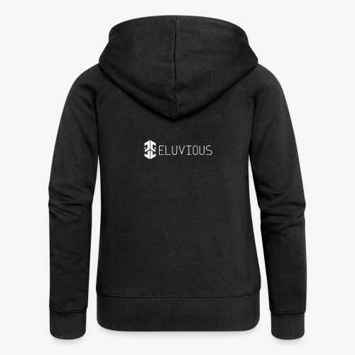 Eluvious   With Text - Women's Premium Hooded Jacket