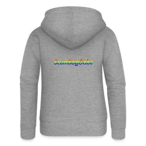 ScumBagGabe Multi Logo XL - Women's Premium Hooded Jacket