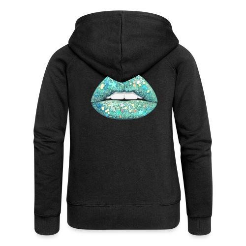 AQUA Shimmer - Women's Premium Hooded Jacket