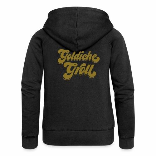 Goldiche Grott - Frauen Premium Kapuzenjacke