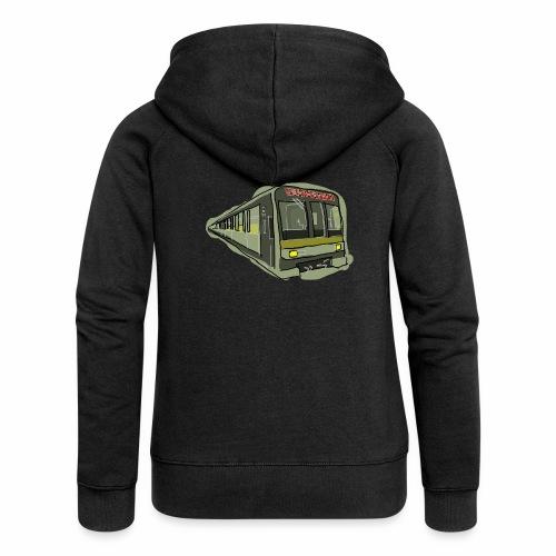 Urban convoy - Felpa con zip premium da donna