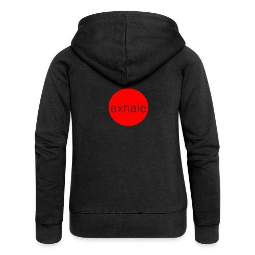 exhale - Women's Premium Hooded Jacket
