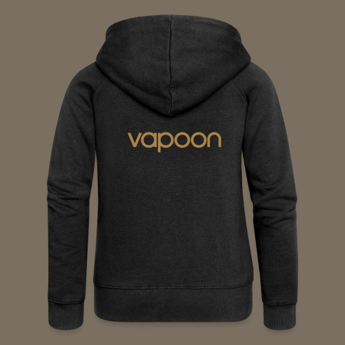 Vapoon Logo simpel 01 - Frauen Premium Kapuzenjacke