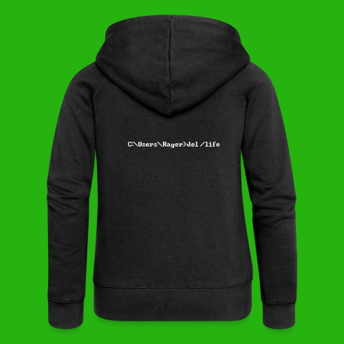 Programming Get A Life - Women's Premium Hooded Jacket