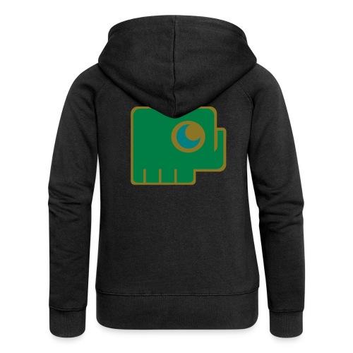 Elefant - Women's Premium Hooded Jacket