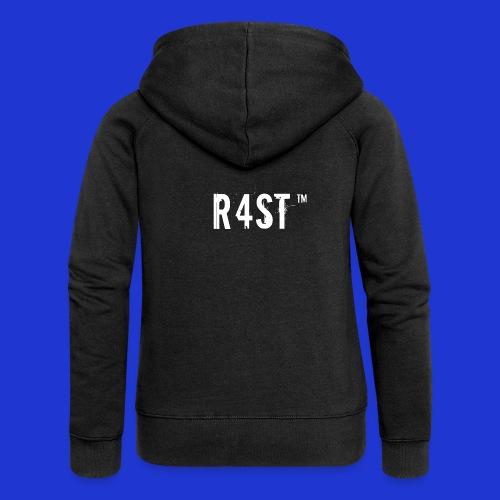 Maglietta ufficiale R4st - Felpa con zip premium da donna